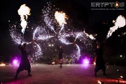 Огненное шоу на свадьбу Кострома