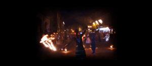 Фаер-шоу в Иваново на праздник