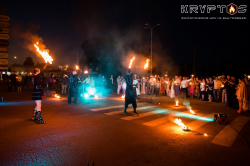 Fire-show KRYPTOS