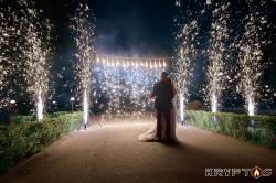 Холодная пиротехника для свадебного танца в Иванове