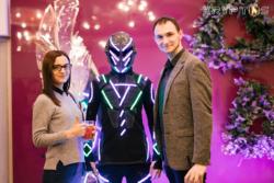 Светящиеся артисты на вэлком-зону в Иваново